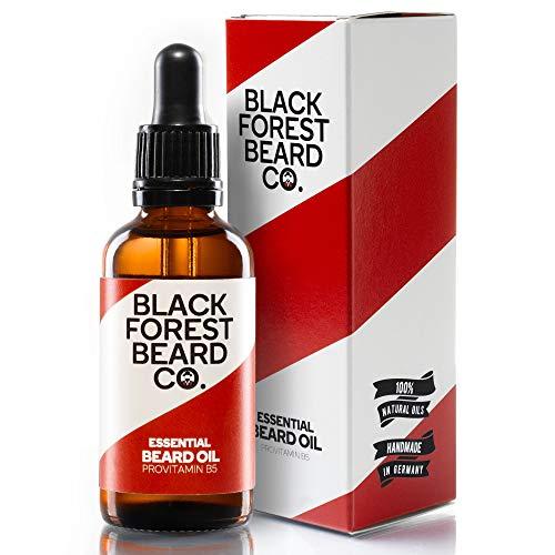 50ml Bartöl von Blackforest Beard Co. - Zedernholz & Minze Duft - natürliche Bartpflege mit...