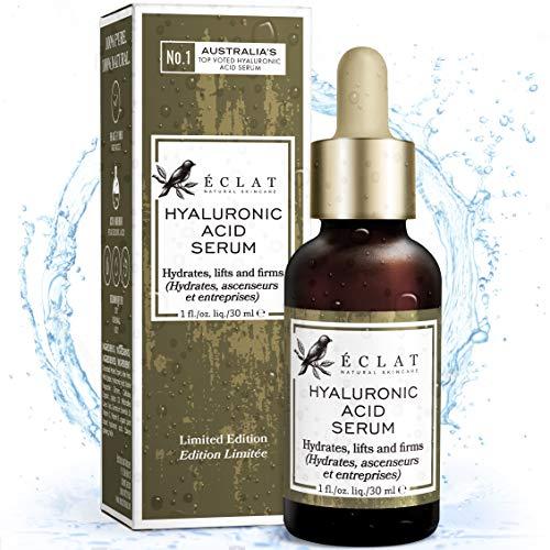 DER SIEGER 2020* BIO Hyaluronsäure-Serum – 8 Mal Wirksameres Anti-Ageing-Serum mit 2% HA + 10...