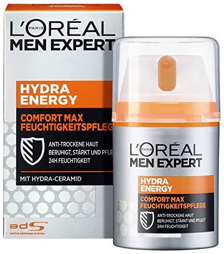 L'Oréal Men Expert Hydra Energy Comfort Max Gesichtscreme, die nicht-fettende Gesichtspflege für...